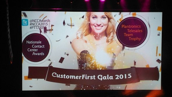 CustomerFirst Gala in Utrecht